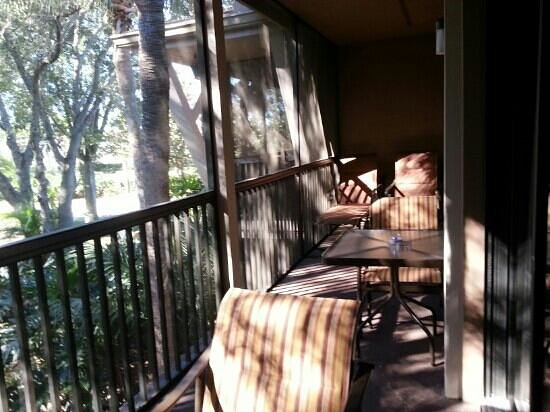 Polynesian Isles Resort: Balkon