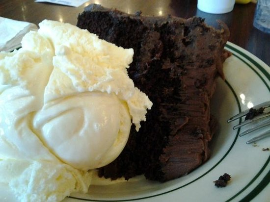 Star Drug Store: Chocolate Cake with Vanilla Ice Cream
