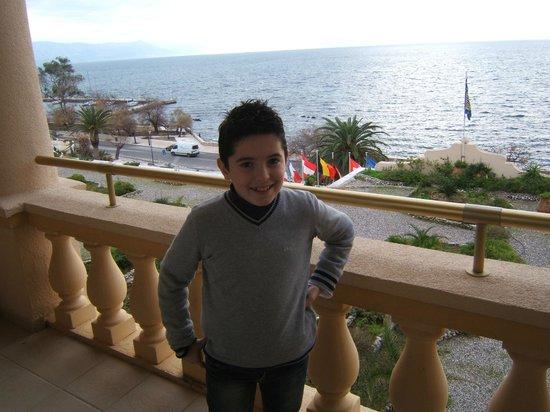 Corfu Palace Hotel: Hotel Balcony