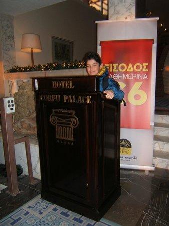 Corfu Palace Hotel: Hotel Hall
