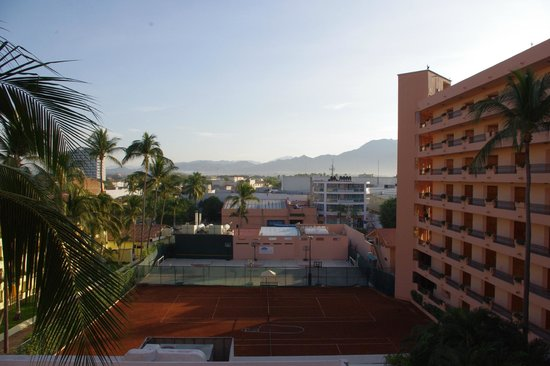 Crown Paradise Golden Resort Puerto Vallarta: view from the back stair well