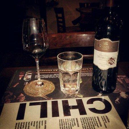 Chili Bar : wine