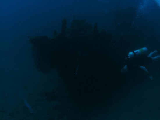 Blue Marlin Dive Gili Trawangan: Japanese wreck , 45 meter