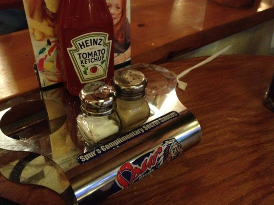 Two Rivers Spur Steak Ranch: The secret sauce is................... Ta daaa KETCHUP!!!