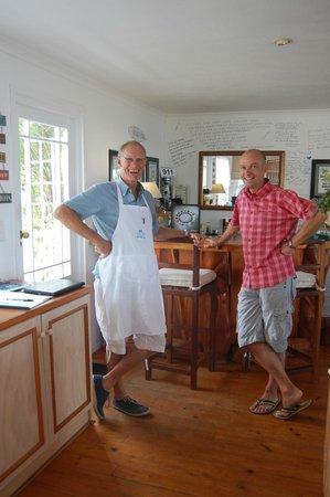 Brenton Beach House: Der Küchenchef