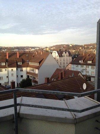 Ibis Styles Stuttgart : Balcony view