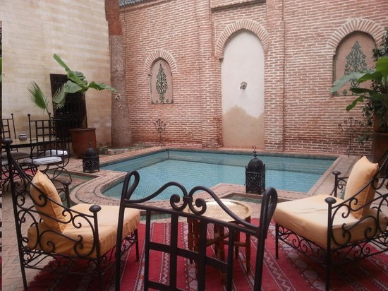 Riad Amira: Patio