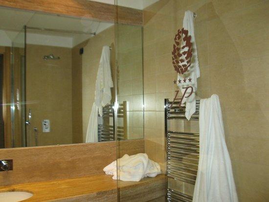 Hotel Pineta: la grande doccia....