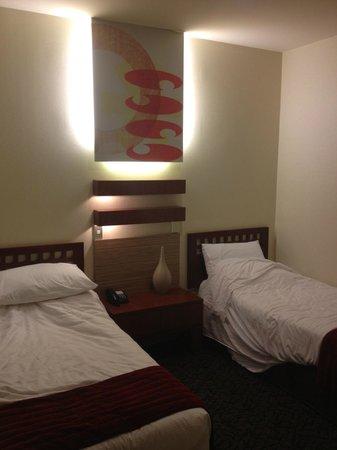 CityLife Wellington: Twin bedroom