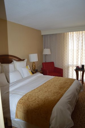 Bethesda Marriott: King Bed - 15th floor