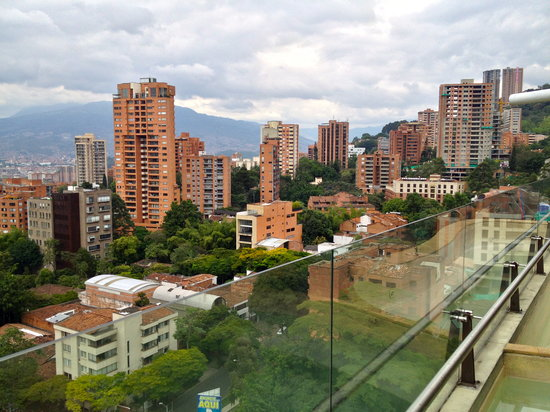 Diez Hotel Categoria Colombia: Roof top view