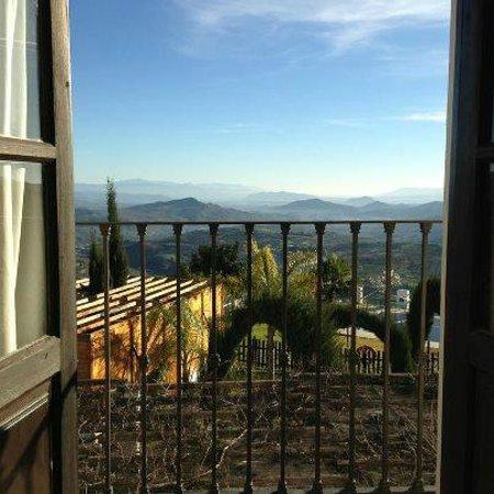 Hotel Cerro de Hijar: Vista desde la ventana de la habitación
