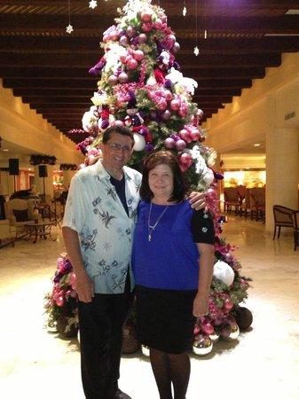 Secrets Capri Riviera Cancun: In the lobby