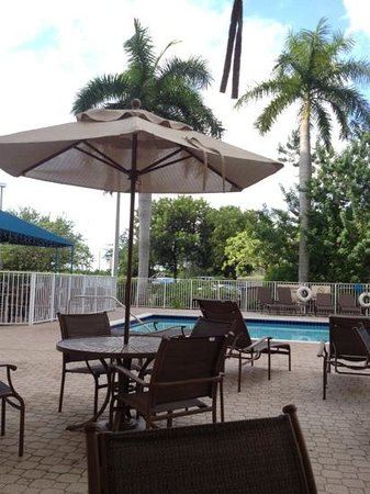 Hampton Inn & Suites Miami-Doral/Dolphin Mall: pool area
