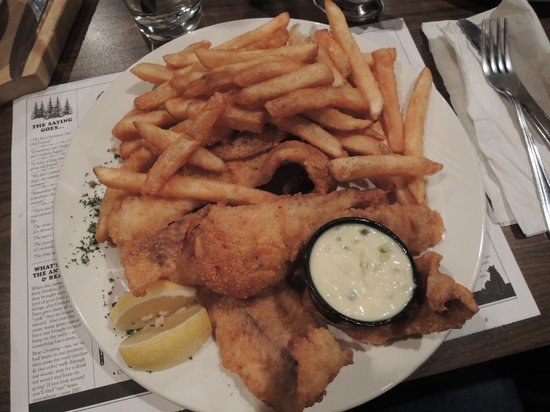 Timbers Restaurant: Fish-N-Chips