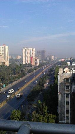 Vihang's Inn: View from roof terrace