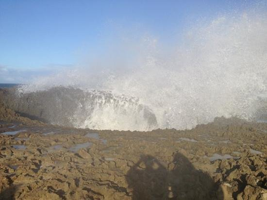 Isabela, Puerto Rico: the blow hole