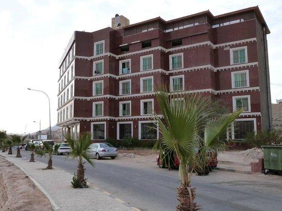 Petra Moon Hotel: Hotel (coté)