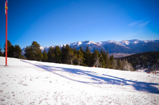 Station de Ski - Font Romeu Pyrenees 2000