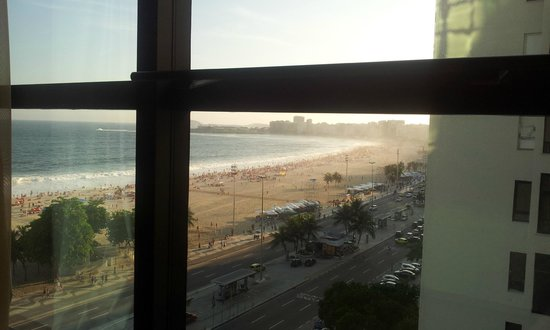Arena Copacabana Hotel: Vista do Apartamento 904