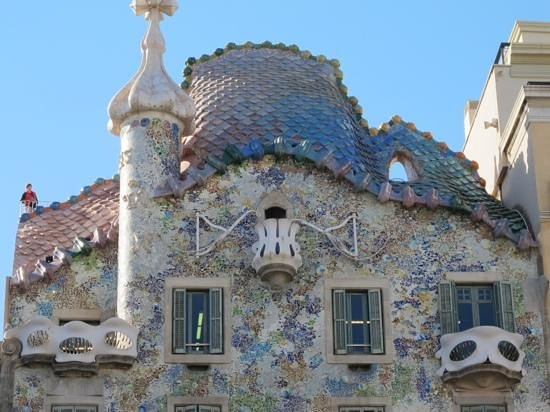 Aparthotel Mariano Cubi: gaudi's barcelona
