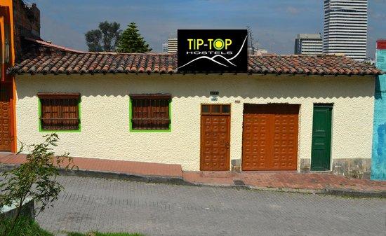 Tip Top Hostel: Fachada