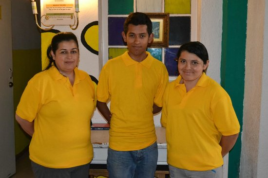 Tip Top Hostel: El Staff