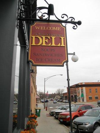 Old Market Deli: right off the main drag in Cannon Falls