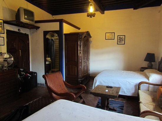 La Casa Azul: Our room