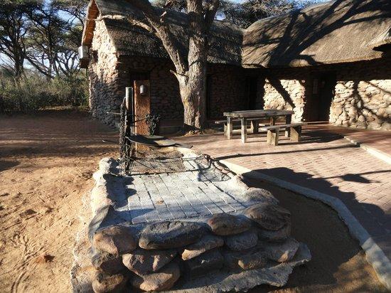 Witsand Nature Reserve : algemene omgeving van lodge