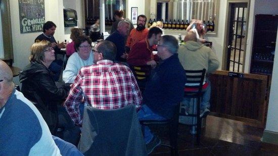 Tall Tales Brewing Company : Saturday night