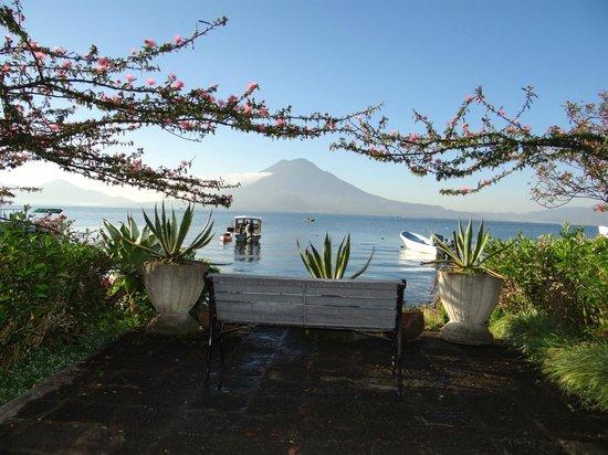 Hotel Atitlan: View