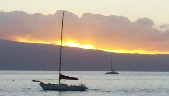 ‪‪Sheraton Maui Resort & Spa‬: Gorgeous Sunset on Ka'anapali Beach