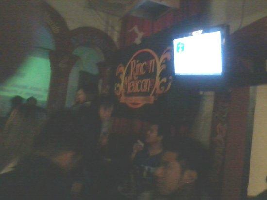 Restaurant Bar Rincon Mexicano: karaoke