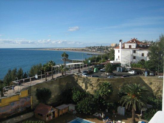 Hotel Europalace: Utsikt från rummet mot sanddynerna