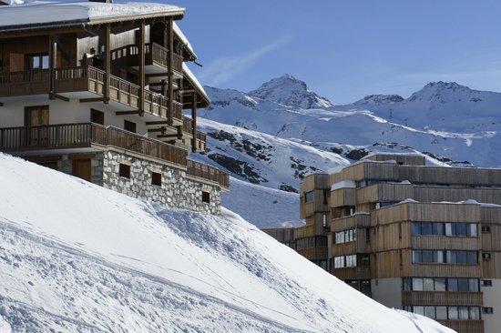 Residence les Neves: Utsikt från rummet
