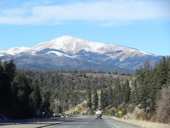 Mescalero Apache Reservation: way there