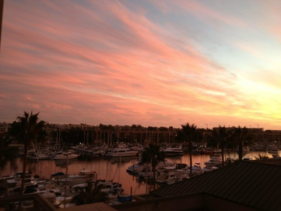 The Ritz-Carlton, Marina del Rey: view from our room