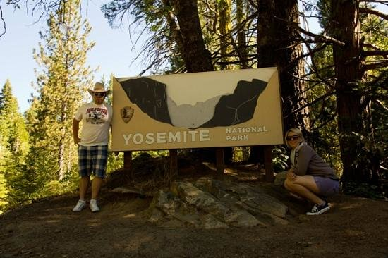 Best Western Plus Yosemite Gateway Inn: Yosemite Eingang