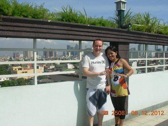 Shogun Suite Hotel : damian auksorius and chona padul in love