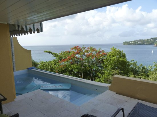 Sandals Regency La Toc: Our private pool