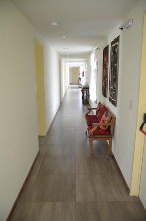 Piedras del Sol: corredor interno
