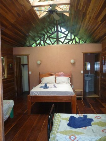 Casa Moabi: chambre du pavillon