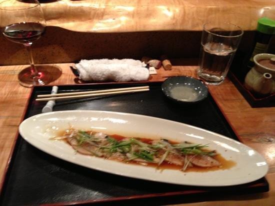 FUJI Japanese Restaurant: mackerel Carpaccio. awesome