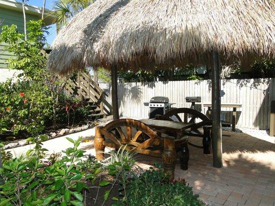 Sunrise Garden Resort : le jardin