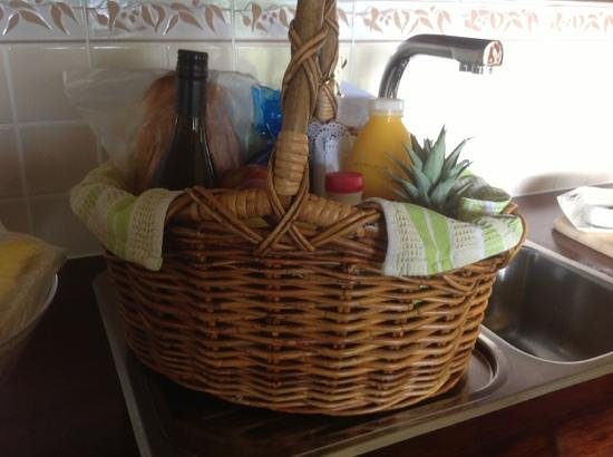 Secrets on the Lake: the breakfast hamper..what more could you ask for?