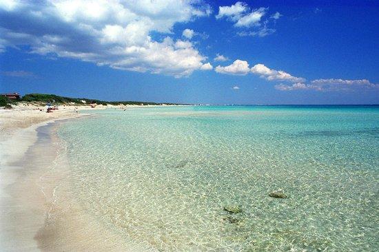 Porto Cesareo, Italia: Punta Prosciutto