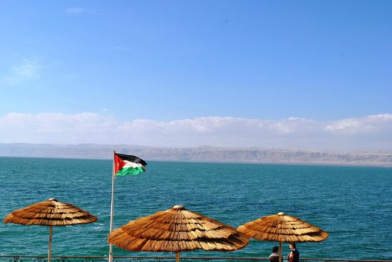 Movenpick Resort & Spa Dead Sea: Beach Area