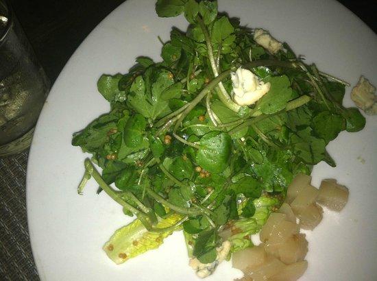 Social Restaurant + Wine Bar: Fall Greens salad