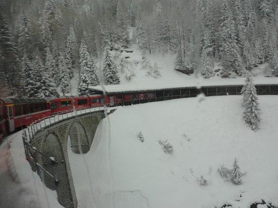 Bernina Express : Scenery
